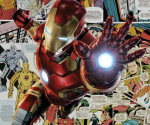 Avengers, iron man, and Marvel image