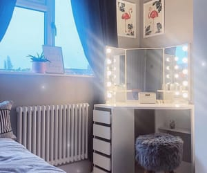 bedroom, lifestyle, and room image