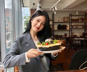 actress, food, and JYP image