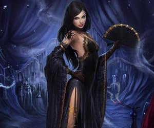 character, dark, and fantasy image