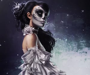 day of the dead, folklore, and charlie-bowater image