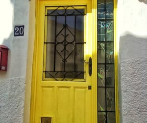 doors and yellow image