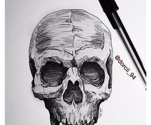 anatomy, illustration, and ink drawing image