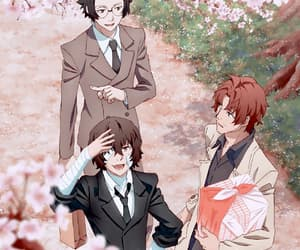 bungou stray dogs, anime, and dazai osamu image