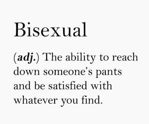 bi, bisexual, and queer image