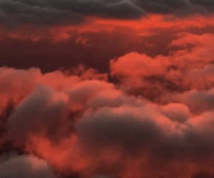background, clouds, and photograph image