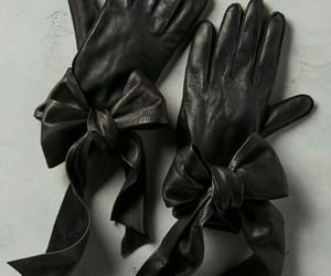 black, gloves, and leather image