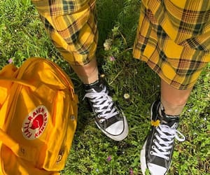 aesthetic, converse, and fjallraven kanken image