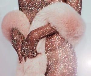 rihanna, rose gold, and pink image