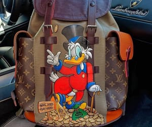bag, duck, and LV image