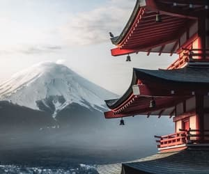 explore, japan, and mount fuji image