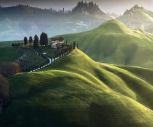 italy, green, and landscape image