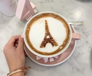 breakfast, paris, and latte image