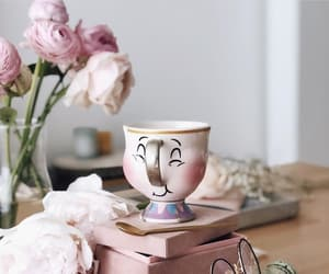 coffee, flowers, and perfect image