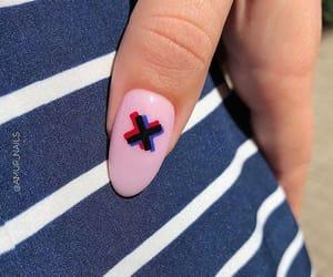 nail, nailart, and pink image