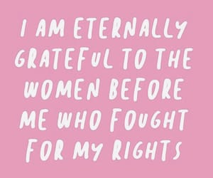 feminism, feminist, and quotes image