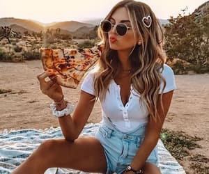 pizza, fashion, and food image