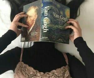 art, book, and van gogh image