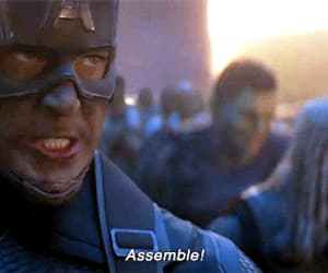 assemble, Marvel, and Avengers image