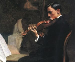 art, painting, and music image
