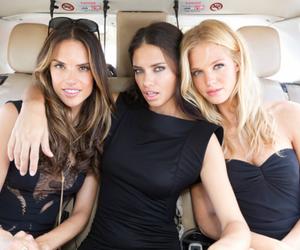 model, Adriana Lima, and Victoria's Secret image