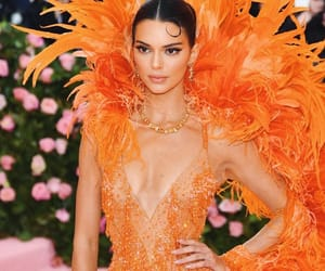kendall jenner, fashion, and met gala image