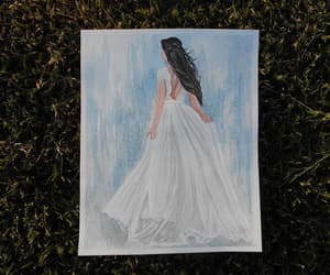 etsy, fashion illustration, and gift for bride image
