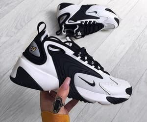 black, nike, and outfit image