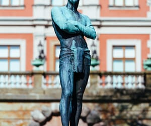 europe, statue, and stockholm image