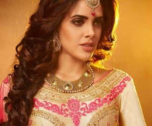 beautiful, dress, and choli image