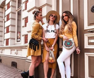 boho, brown, and fashion image