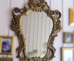 antique, frame, and art image
