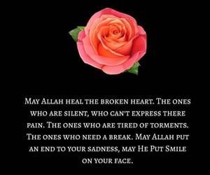 allah, heal, and brokenheart image