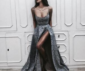article, dress, and makeup image