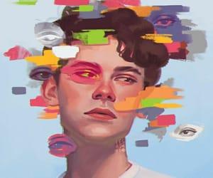 boy, desenho, and draw image