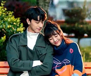 couple, gif, and chinese drama image