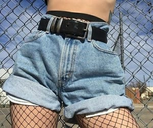 alternative, clothes, and fishnets image