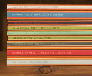 books, nineteen eighty four, and classics image