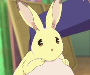 anime, bunny, and gif image