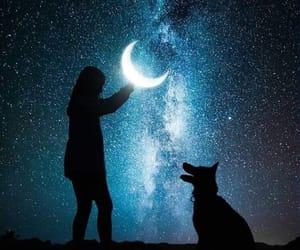 amo, estrellas, and Noche image