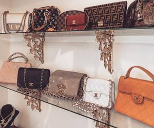 chanel, fashionista, and luxury bags image