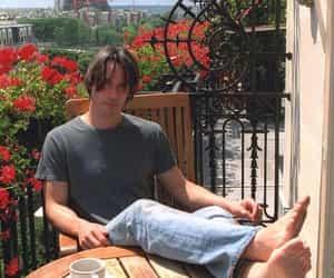 keanu reeves, paris, and rose image