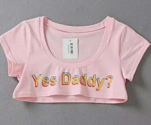 crop, daddy, and girly image