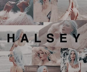 faded, wallpaper, and halsey image