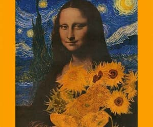 art, mona lisa, and wallpaper image