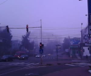aesthetic, lonely, and purple image