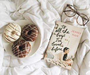 book and donuts image