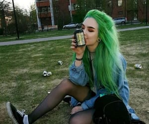 beautiful, color, and colored hair image