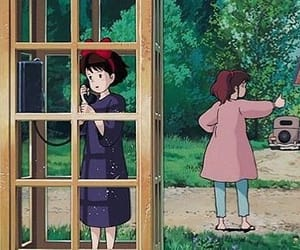 ghibli, studio ghibli, and 魔女の宅急便 image
