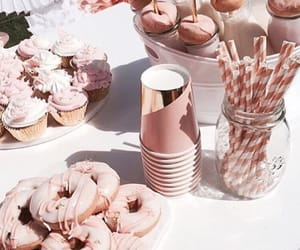 rose gold, aesthetic, and party image